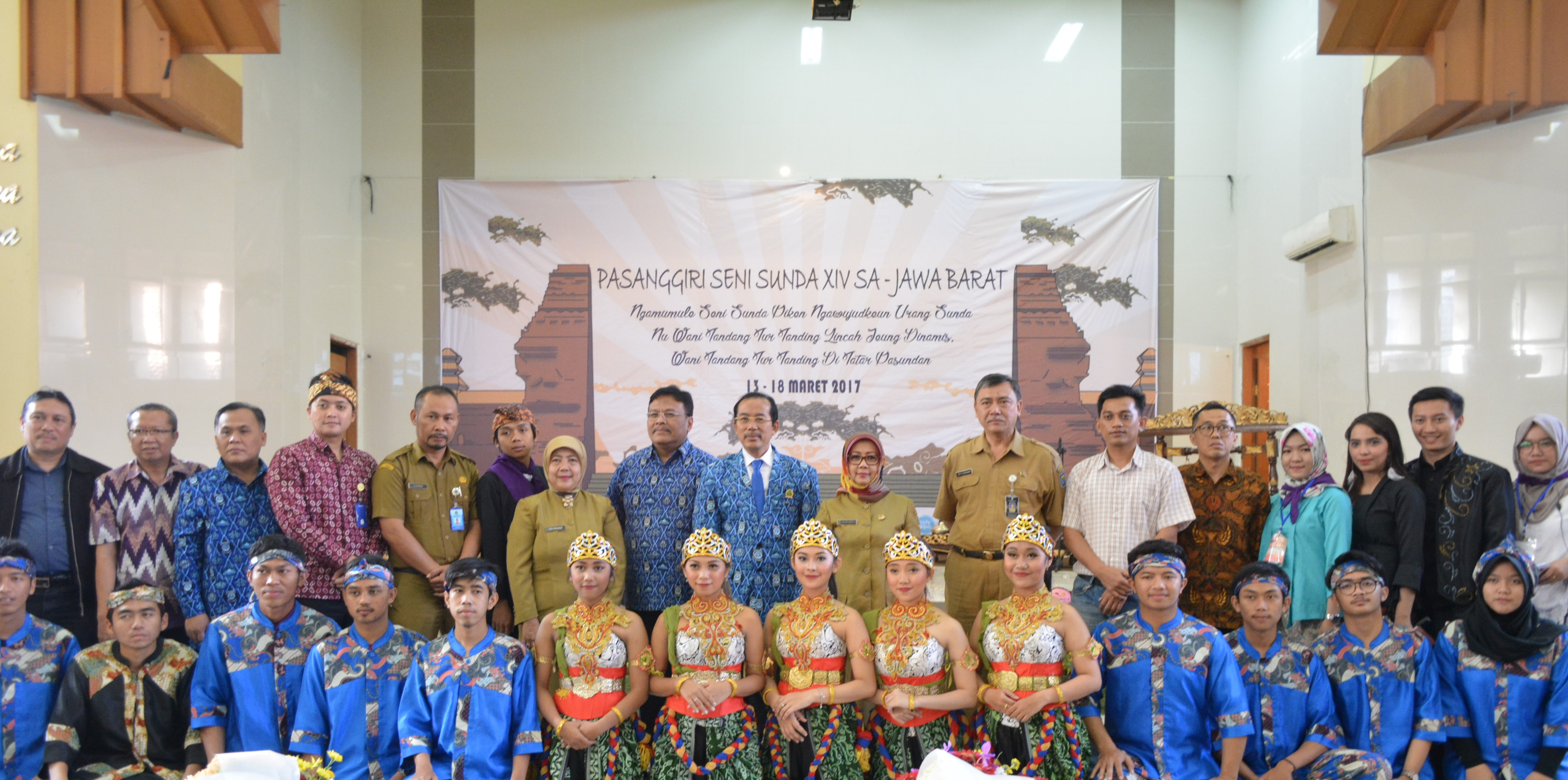 Pasanggiri Seni Sunda Ke Xiv Se Jawa Barat Lisma Universitas